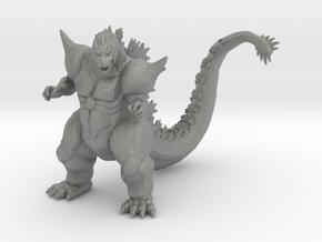 Super Godzilla kaiju monster 56mm miniature model in Gray PA12