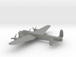 Avro Lancaster (w/o landing gears) in Gray PA12: 1:350