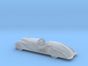 HO Scale 1949 Delahaye in Smooth Fine Detail Plastic
