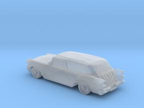 S Scale 1957 Pontiac Safari Station Wagon in Smooth Fine Detail Plastic