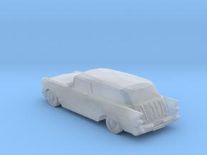 O Scale 1957 Pontiac Safari Station Wagon in Smooth Fine Detail Plastic