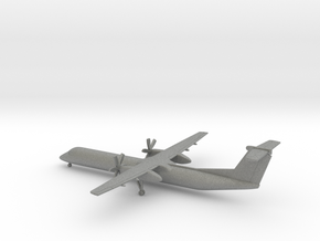 Bombardier Dash 8 Q400 in Gray PA12: 6mm