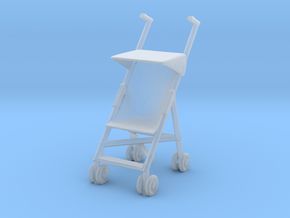 Stroller 1/48 in Smooth Fine Detail Plastic
