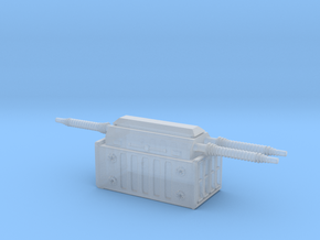 Electrical Transformer 1/285 in Smooth Fine Detail Plastic