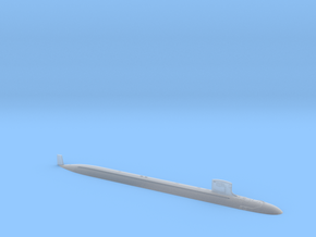 USS NORTH DAKOTA VA BLK III WL - 700 in Smooth Fine Detail Plastic