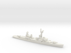 Gearing-class destroyer (FRAM 1B), 1/1250 in White Natural Versatile Plastic