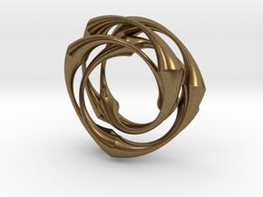 Vortex in Natural Bronze