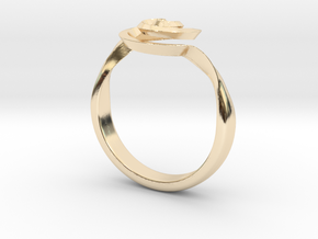 SpiralRing in 14K Yellow Gold