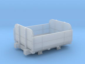 Furzebrook Railway dropside non tipper wagon 009 in Smooth Fine Detail Plastic
