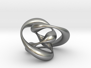 Knot 01 in Natural Silver