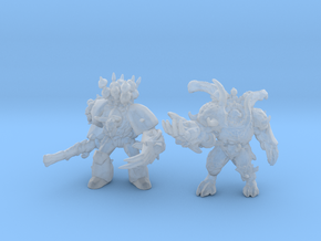 Demonic Prince 6mm Infantry miniature models games in Smooth Fine Detail Plastic