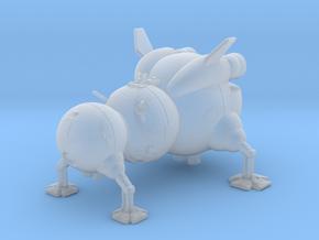 "Starbug Red Dwarf 2.7"" in Smooth Fine Detail Plastic"