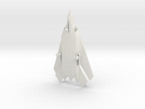 Lockheed / Boeing AFX / A/FX-653 (w/Landing Gear) in White Natural Versatile Plastic: 1:72