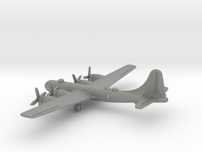 Boeing B-29 Superfortress in Gray PA12: 1:400