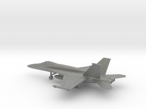 Boeing F/A-18E Super Hornet in Gray PA12: 1:200