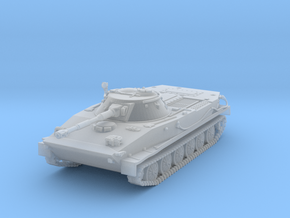1/100 PT-76 tank in Smoothest Fine Detail Plastic