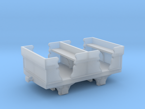 Oakeley Quarry carriage 009 in Smooth Fine Detail Plastic