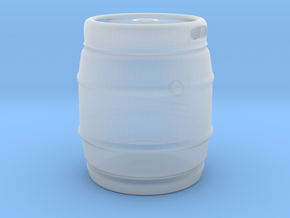 1:25 Chubby Beer Keg Gas Tank in Smooth Fine Detail Plastic