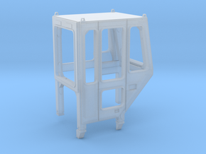 Enclosed cab for 1:50 NZG Cat 621/627 Scrapers  in Smooth Fine Detail Plastic