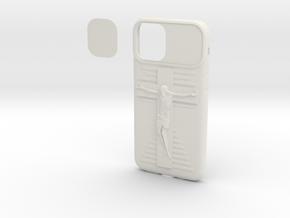 IPhone 11 Pro Jesus on Cross Cover in White Natural Versatile Plastic