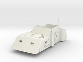1/24 USN PT Boat 109 Main Cabin in White Natural Versatile Plastic