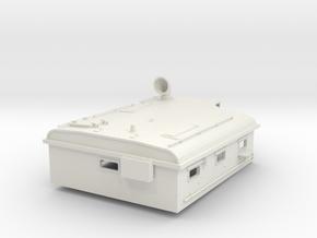 1/24 USN PT Boat 109 Day Cabin in White Natural Versatile Plastic