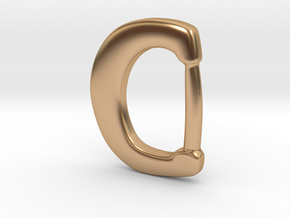 Ringerike Buckle from Lusby with Winceby in Polished Bronze