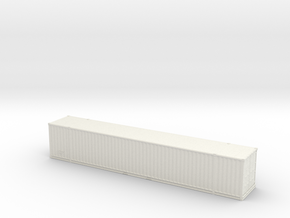 53ft High-Cube Container 1/64 in White Natural Versatile Plastic