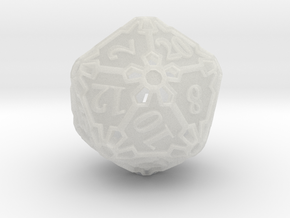 Premier d20 in Smooth Fine Detail Plastic