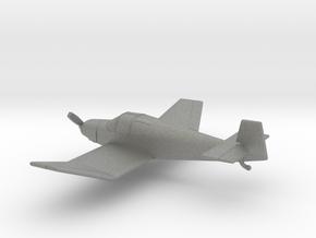 Jodel D.112 in Gray PA12: 1:100