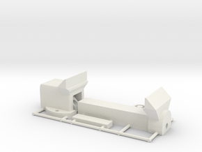 1/10 scale Working Vice for Diorama or Garage in White Natural Versatile Plastic