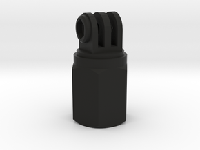 gopro poleholder with nut V3 in Black Natural Versatile Plastic