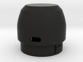 share-screew | PART 1 - HEAD in Black Natural Versatile Plastic