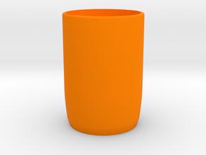 Share-screw | PART 2 - BODY in Orange Processed Versatile Plastic