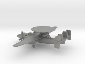 Northrop Grumman E-2 Hawkeye in Gray PA12: 6mm