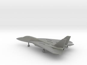 Grumman F-14 Tomcat (swept wings) in Gray PA12: 6mm