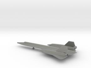 Lockheed SR-71 Blackbird in Gray PA12: 1:350