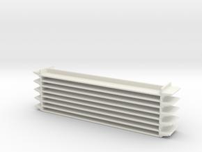 Grocery Shelf 1/64 in White Natural Versatile Plastic