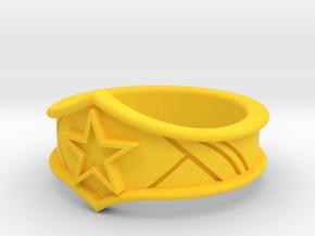 Classic WW Tiara Ring in Yellow Processed Versatile Plastic: 5 / 49