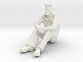 Printle M Homme 049 - 1/35 - wob in White Natural Versatile Plastic