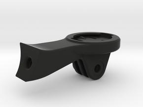 Garmin GoPro Specialized Mount in Black Natural Versatile Plastic