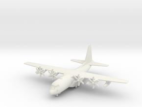 KC-130J w/Gear (MD) in White Natural Versatile Plastic: 1:350