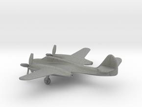 McDonnell XP-67 Moonbat in Gray PA12: 1:200