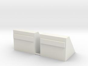 Betonnen stootblok     N in White Natural Versatile Plastic