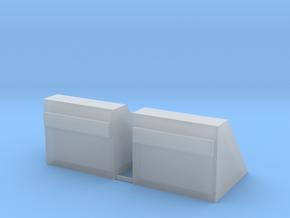 Betonnen stootblok     N - spoor in Smooth Fine Detail Plastic