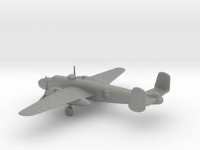 North American B-25J Mitchell in Gray PA12: 1:200