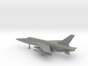 Republic F-105D Thunderchief in Gray PA12: 6mm