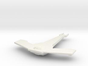 Cardassian Hammerhead Class in White Natural Versatile Plastic