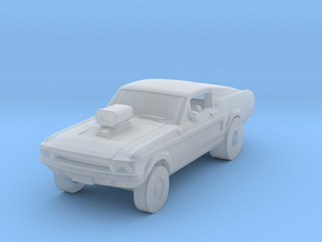 Mustang Gasser 1/87 in Smooth Fine Detail Plastic