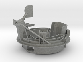1/29 USN PT Boat 109 Aft Turret MG Mount in Gray PA12